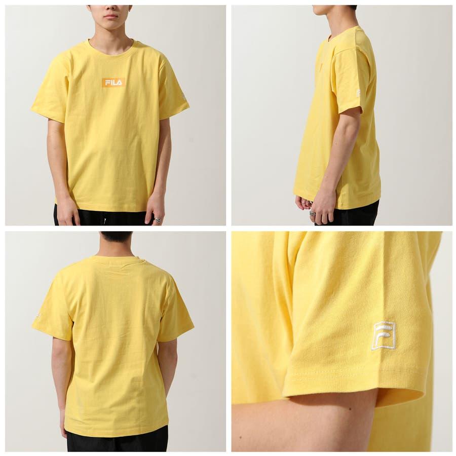 Tシャツ メンズ カットソー 半袖 Tee 刺繍 プリント ロゴ FILA フィラ ZIP ジップ 夏 夏物 夏服【fh7t】 8