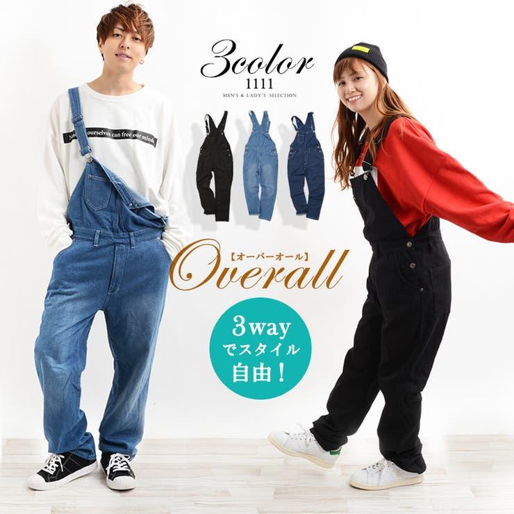 メンズレディース韓国ファッションペアルックカップルお揃いワンフォー111 | 詳細画像