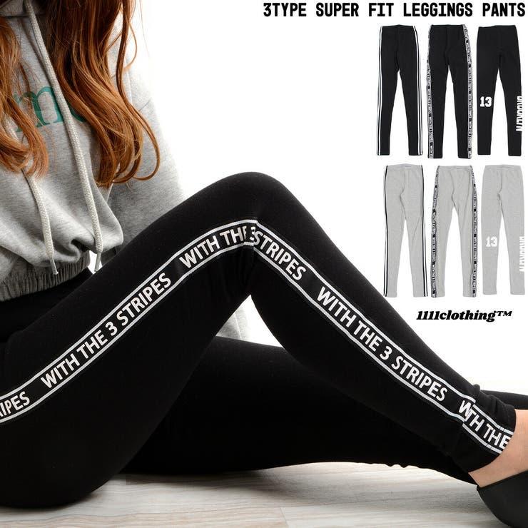 ◆3type スーパーフィット レギンスパンツ◆   ONE 4 PREMIUM   詳細画像1