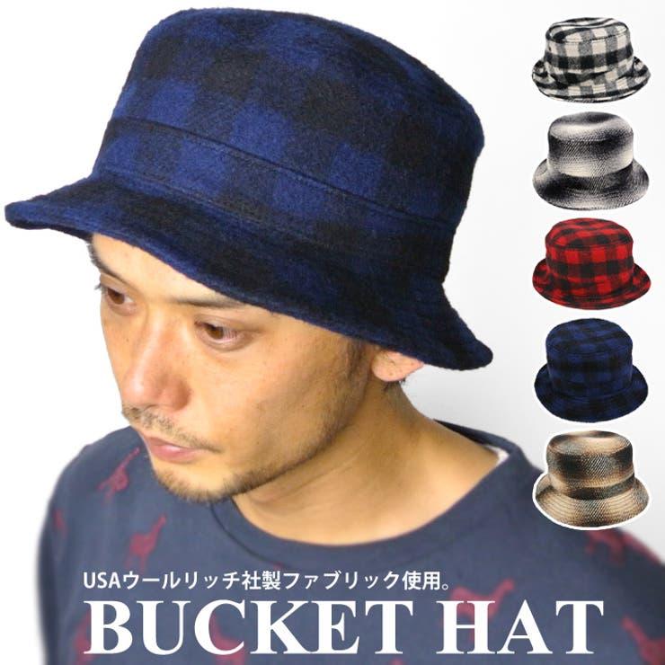 CASTANO ハット WOOLRICH ウールリッチ ウール バケットハット HAT cs-158132203