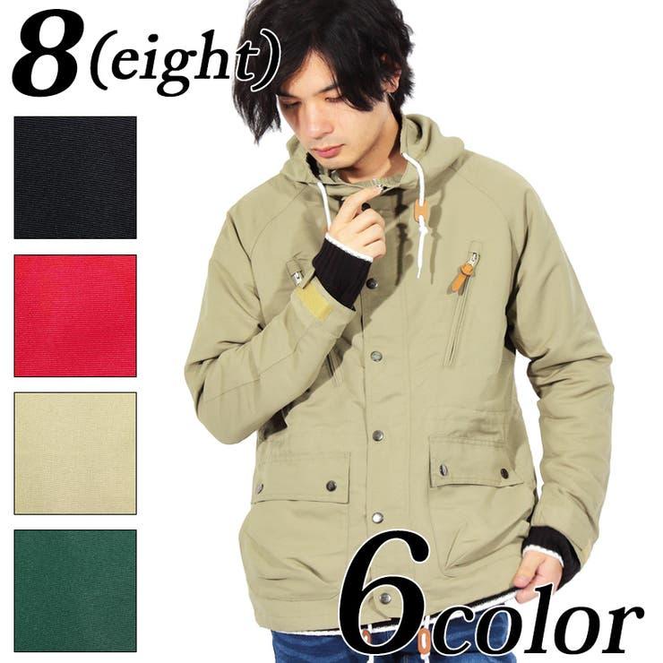 マウンテンパーカー メンズ ジャケット全6色   8(eight)    詳細画像1
