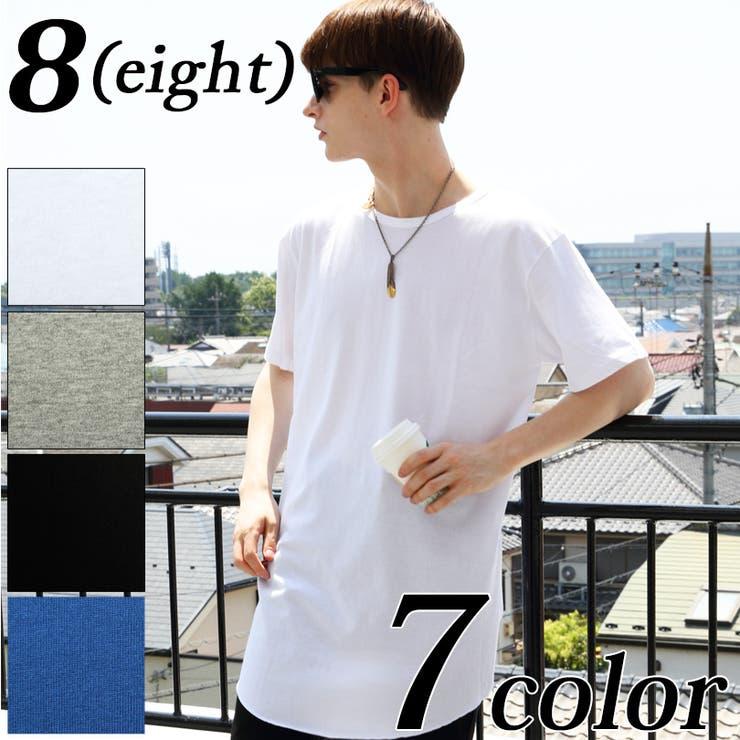Tシャツ メンズ 半袖 | 8(eight)  | 詳細画像1