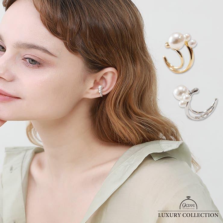 イヤーカフ パール 片耳用 | 9am jewelry&accessory | 詳細画像1