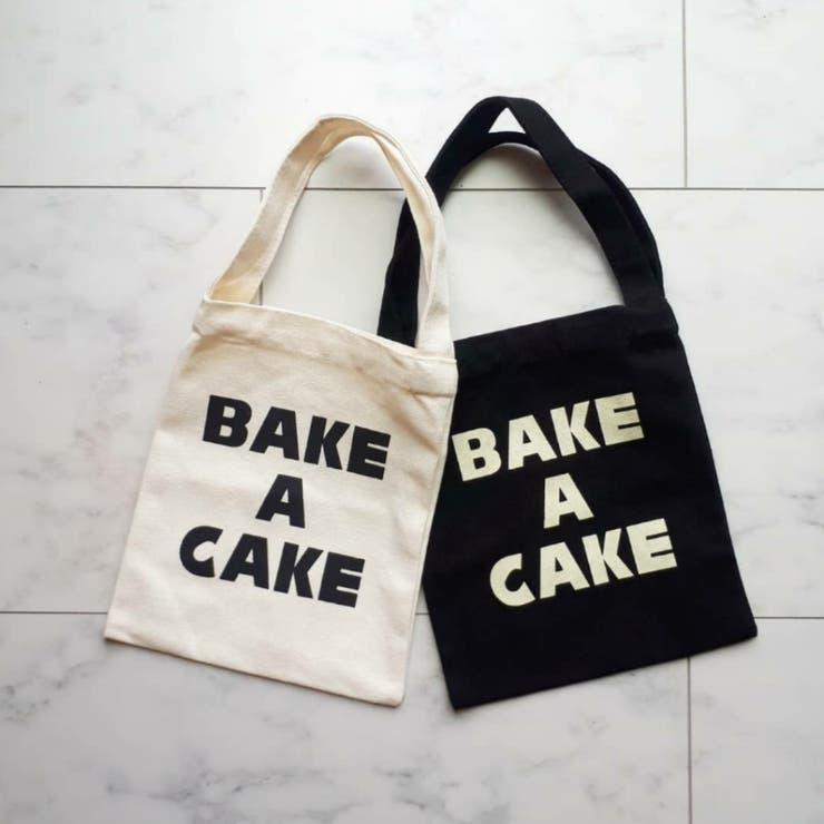 BAKE A CAKE ミニキャンバストート | a-trend-ld.store  | 詳細画像1