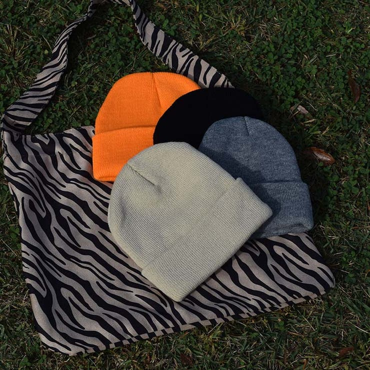 シンプルデザインニット帽   a-trend-ld.store    詳細画像1