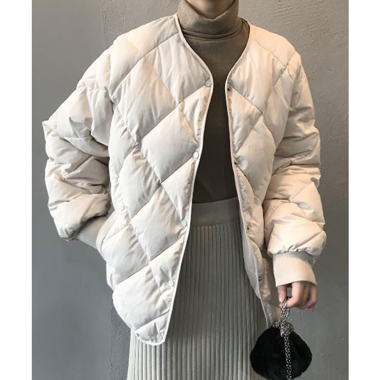 キルティング中綿ジャケット | ABITOKYO  | 詳細画像1