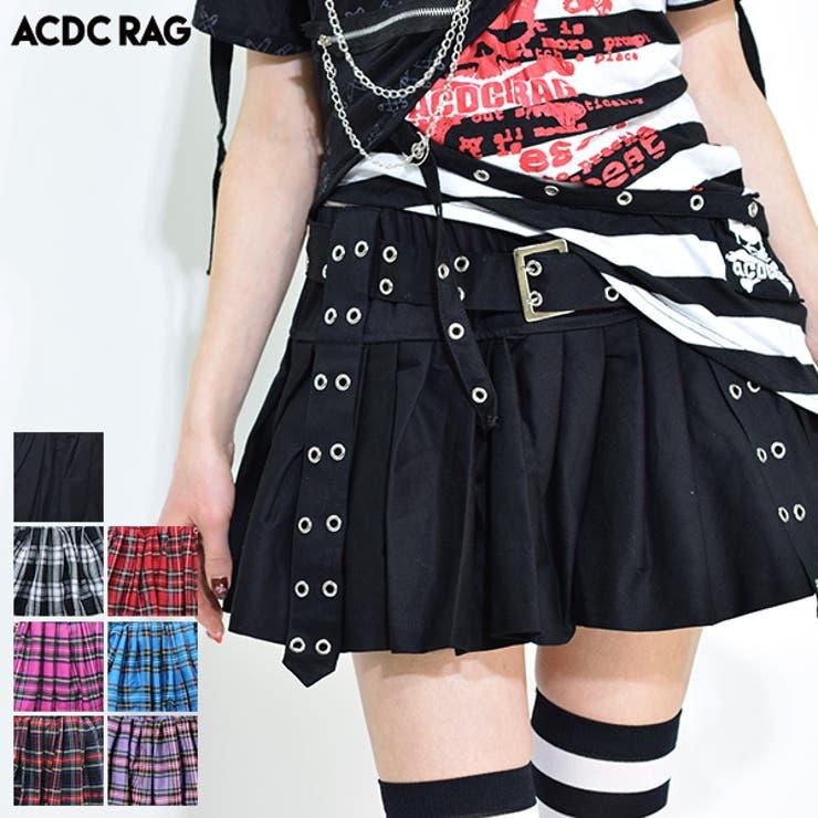 プリーツパンツスカート スカート ミニスカート | ACDCRAG | 詳細画像1