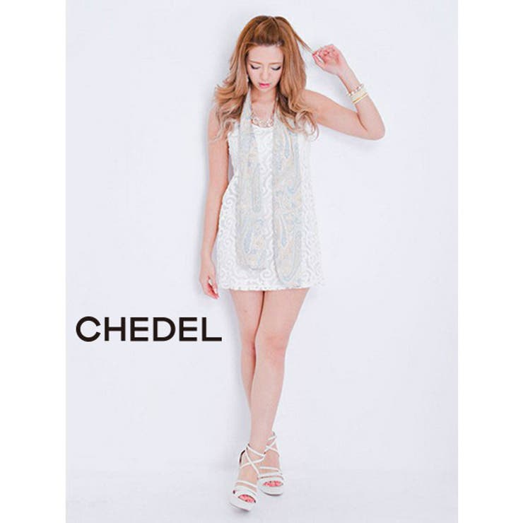 【Date】PAISLEYスカーフ/Chedel【シェデル】