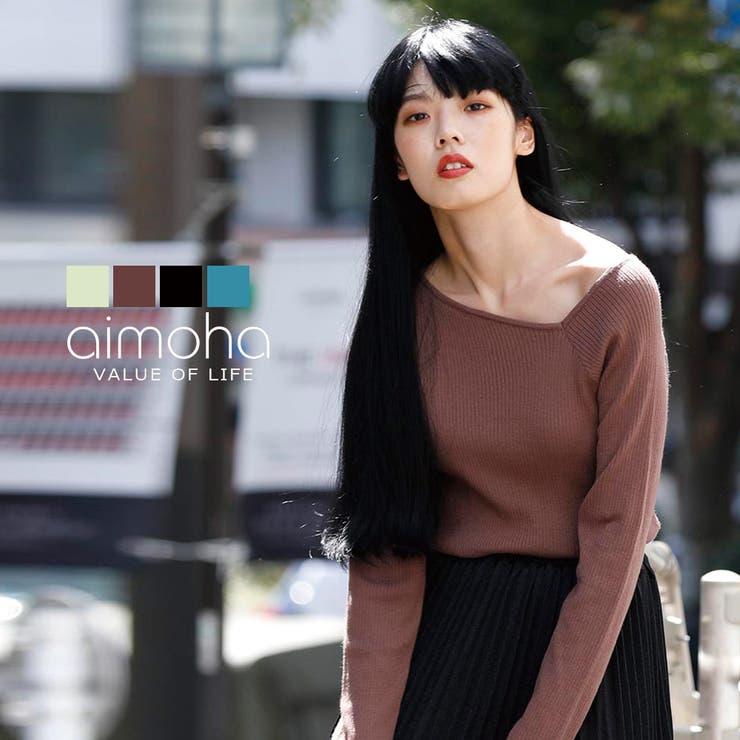 aimoha のトップス/ニット・セーター   詳細画像