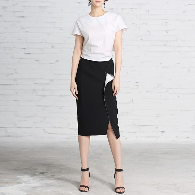 ペンシルラップスカート ラップスカート レディース | aimoha  | 詳細画像1