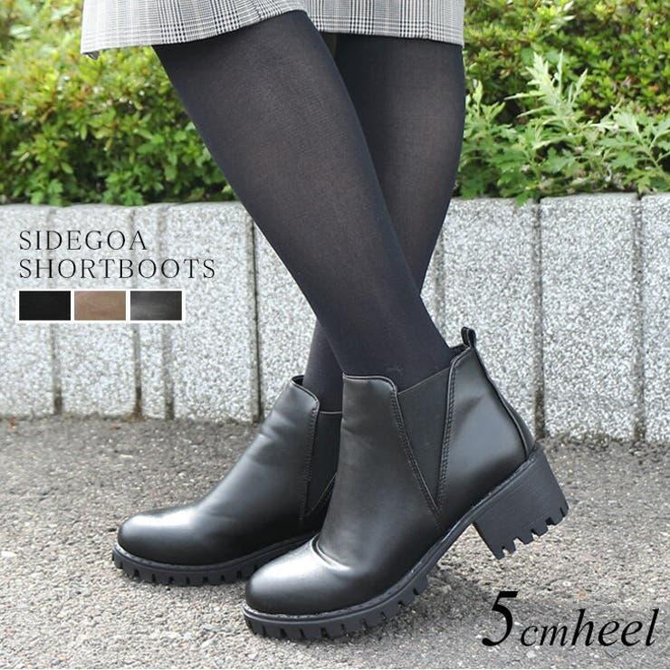 サイドゴアショートブーツ 5 0センチヒール | AmiAmi | 詳細画像1
