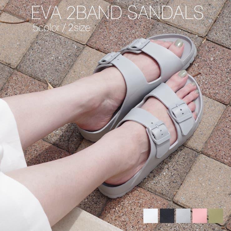 EVA2バンドサンダル スポーツサンダル レディース | AmiAmi | 詳細画像1