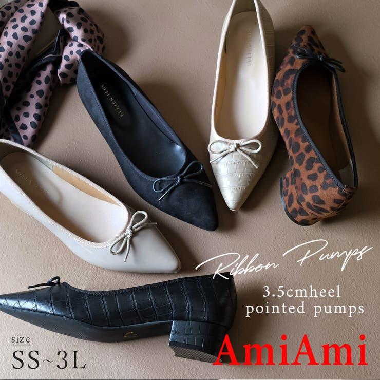 3 5cmヒール バレエシューズ | AmiAmi | 詳細画像1