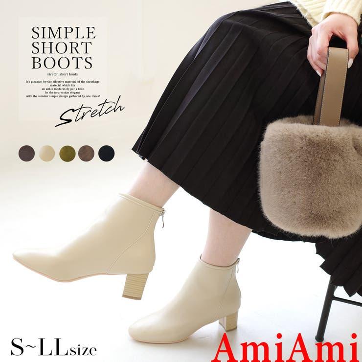人気商品再入荷 ストレッチ ブーツ   AmiAmi   詳細画像1
