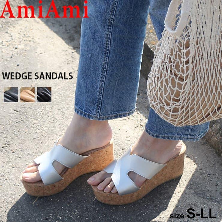 ウエッジソールサンダル 8 0センチヒール | AmiAmi | 詳細画像1