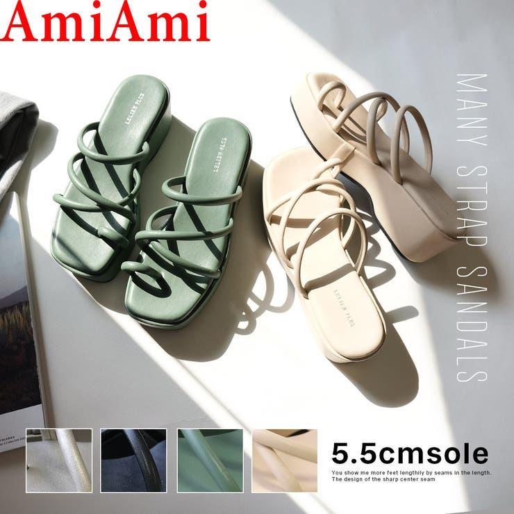 2021年春夏新作 ストラップ サンダル | AmiAmi | 詳細画像1