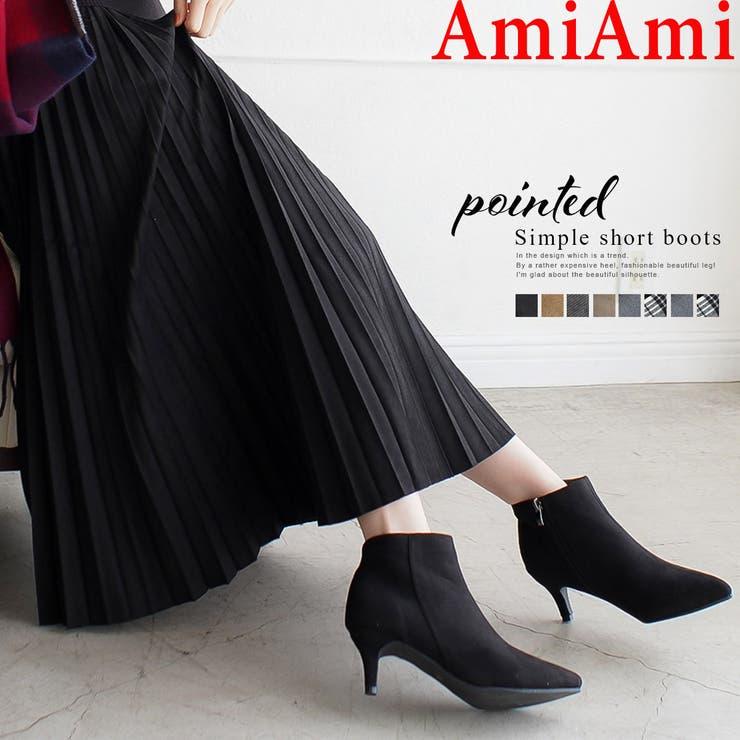 人気商品再入荷 サイドジップ ショートブーツ | AmiAmi | 詳細画像1
