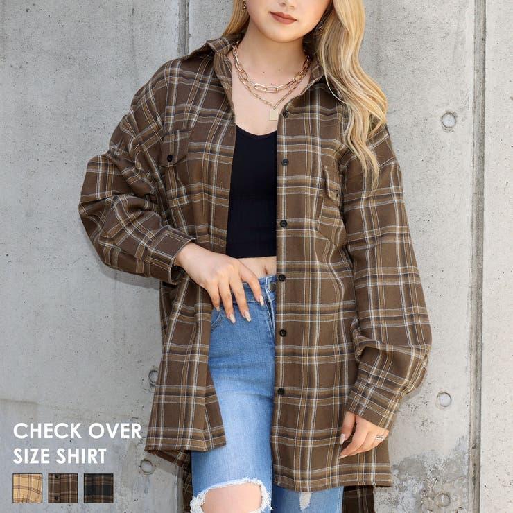 チェックオーバーサイズシャツ / ANAP / 154-5001   ANAP   詳細画像1