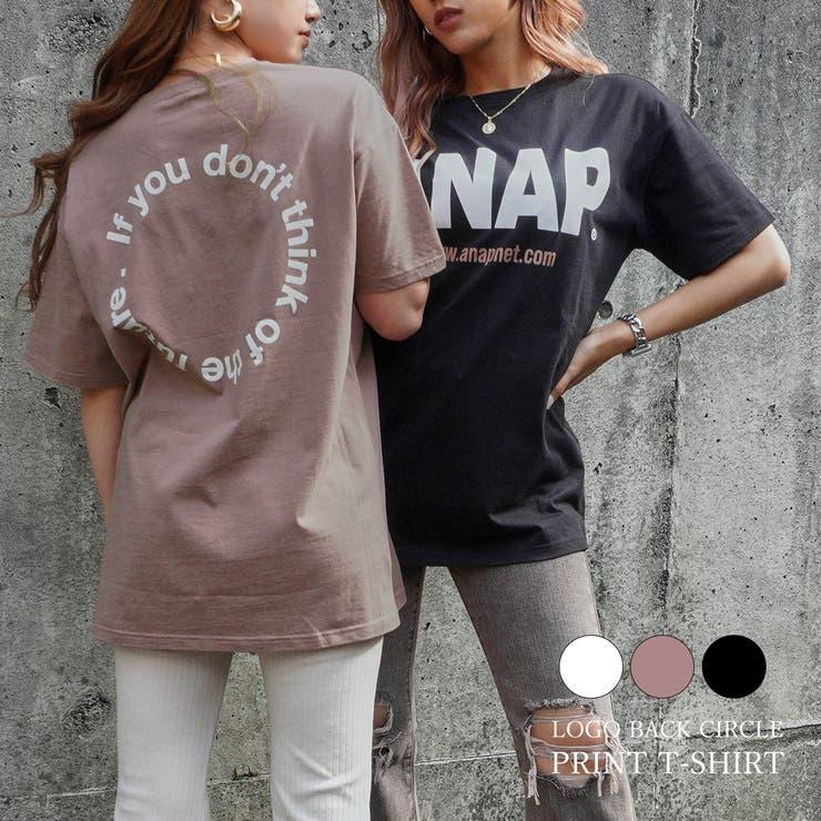 ANAPロゴバックサークルプリントTシャツ / ANAP / 793-8197 | ANAP | 詳細画像1