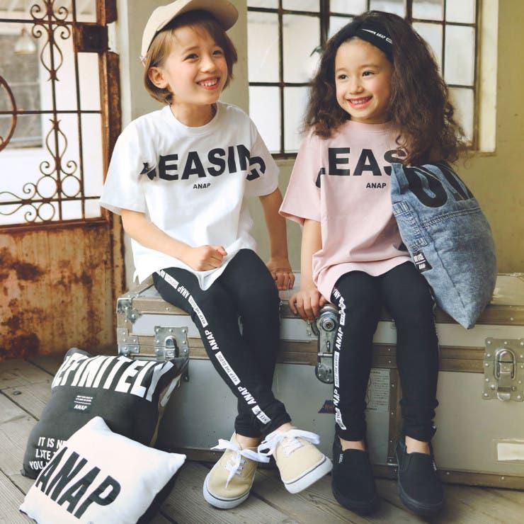 オーガニックTシャツ+レギンスSET ANAP KIDS   ANAP KIDS & ANAP GiRL   詳細画像1