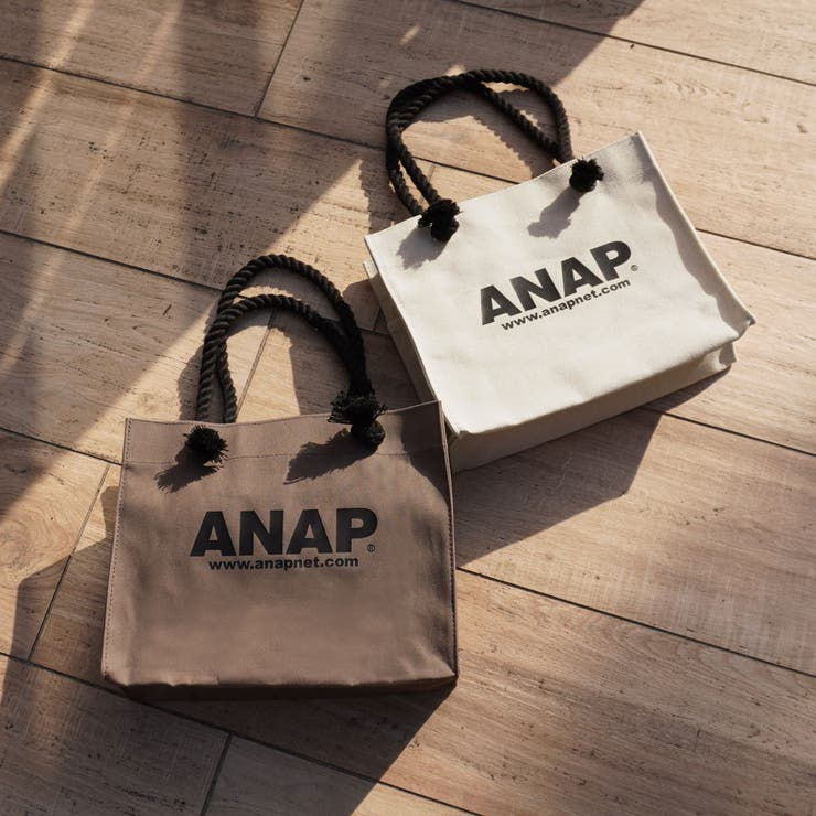 ANAPロゴキャンバスミニトートバッグ | 詳細画像
