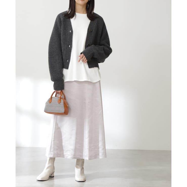 モッタリサテンマーメイドスカート《S Size Line》 | N.Natural Beauty Basic | 詳細画像1