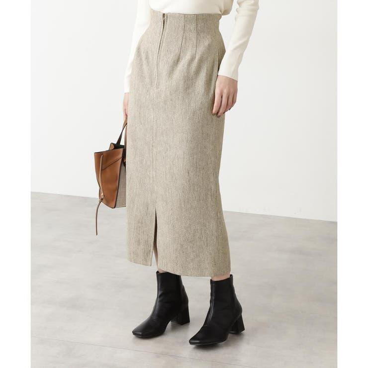 ツイードハイウエストタイトスカート | N.Natural Beauty Basic | 詳細画像1