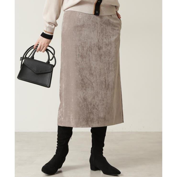 別珍シャンブレーナロースカート | NATURAL BEAUTY BASIC | 詳細画像1