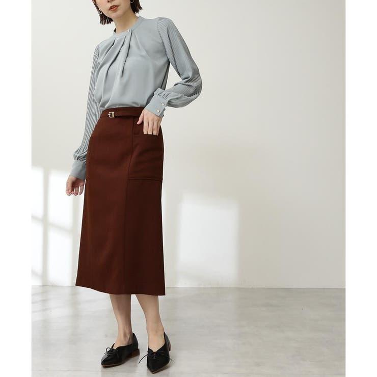 ベルト付ポケットタイトスカート《S Size Line》 | N.Natural Beauty Basic | 詳細画像1