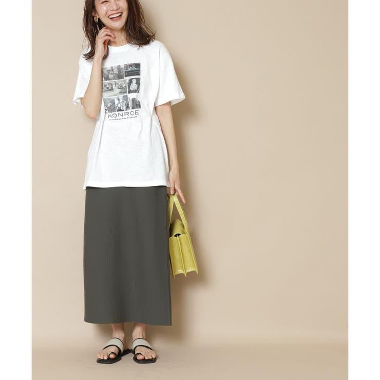 ウォッシャブルニットタイトスカート | N.Natural Beauty Basic | 詳細画像1