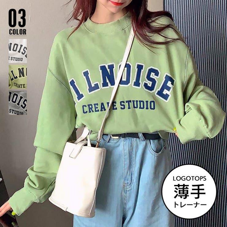 トレーナー Tシャツ レディース 韓国   ANGELCLOSET   詳細画像1