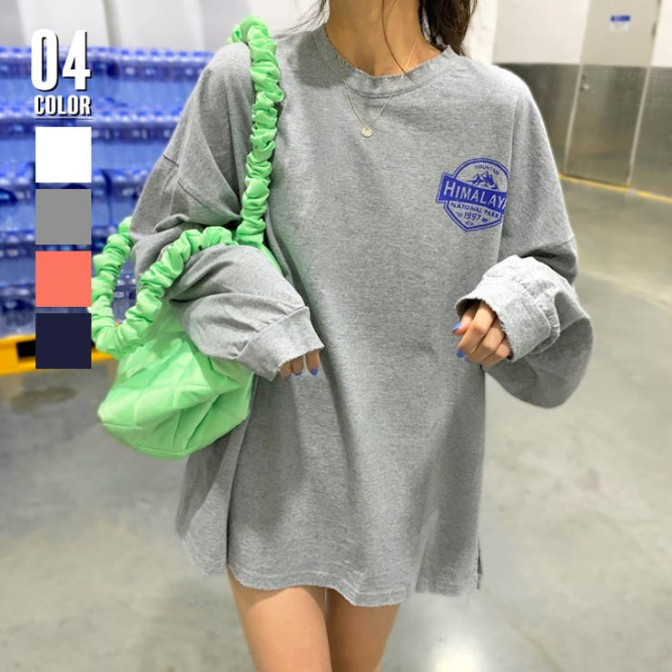 Tシャツ レディース 長袖 韓国 | ANGELCLOSET | 詳細画像1