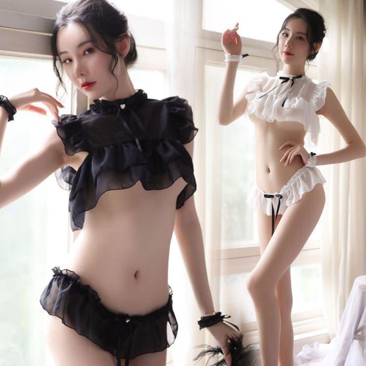 セクシー ランジェリー シースルー   Anna Mu JAPAN   詳細画像1