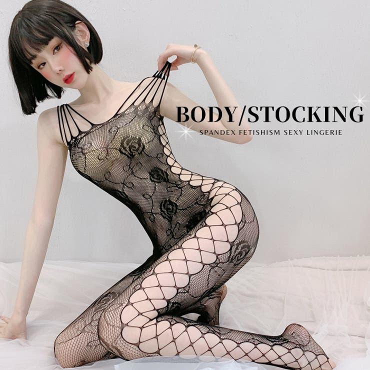 セクシーランジェリー 全身タイツ ボディストッキング | Anna Mu JAPAN | 詳細画像1