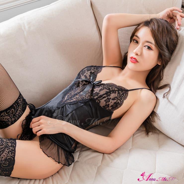 ベビードール セクシー下着 胸元 | Anna Mu JAPAN | 詳細画像1