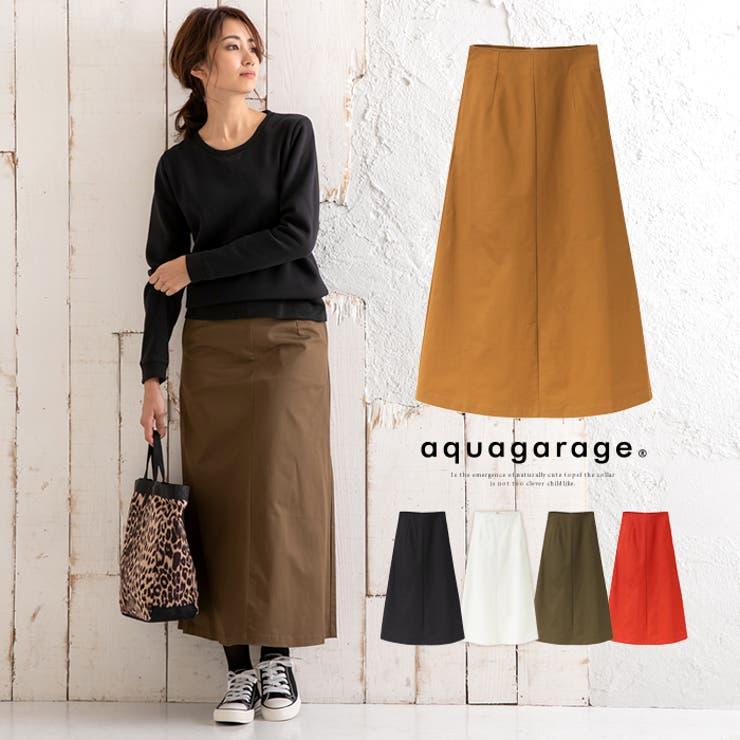 チノスカート スカート ボトム | aquagarage | 詳細画像1