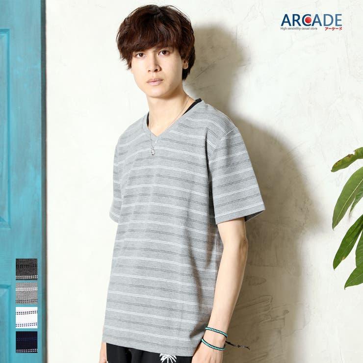 ARCADEのトップス/Tシャツ   詳細画像