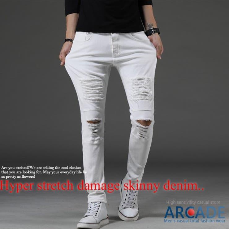 ARCADEのパンツ・ズボン/デニムパンツ・ジーンズ   詳細画像