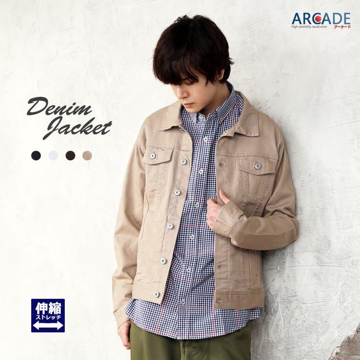 ARCADEのアウター(コート・ジャケットなど)/デニムジャケット | 詳細画像