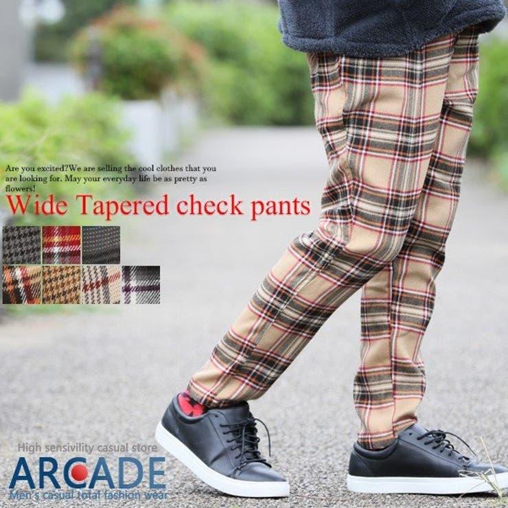 ARCADEのパンツ・ズボン/バギーパンツ   詳細画像