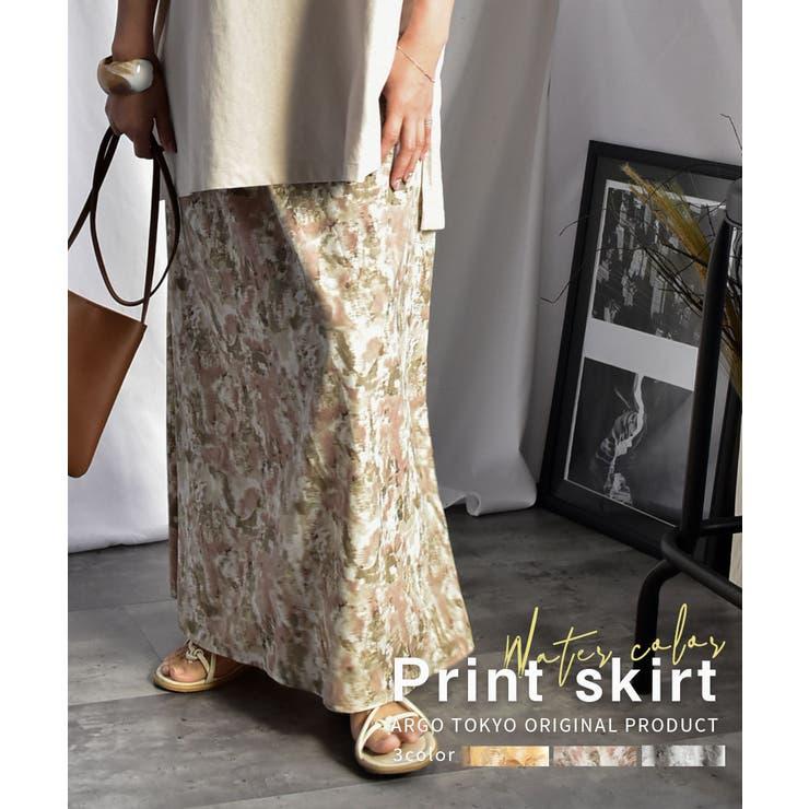 ARGO TOKYOのスカート/ロングスカート・マキシスカート   詳細画像