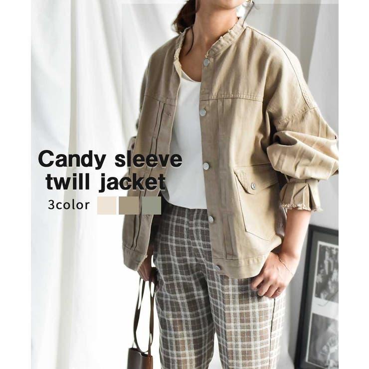 Candy sleeve twill   ARGO TOKYO   詳細画像1