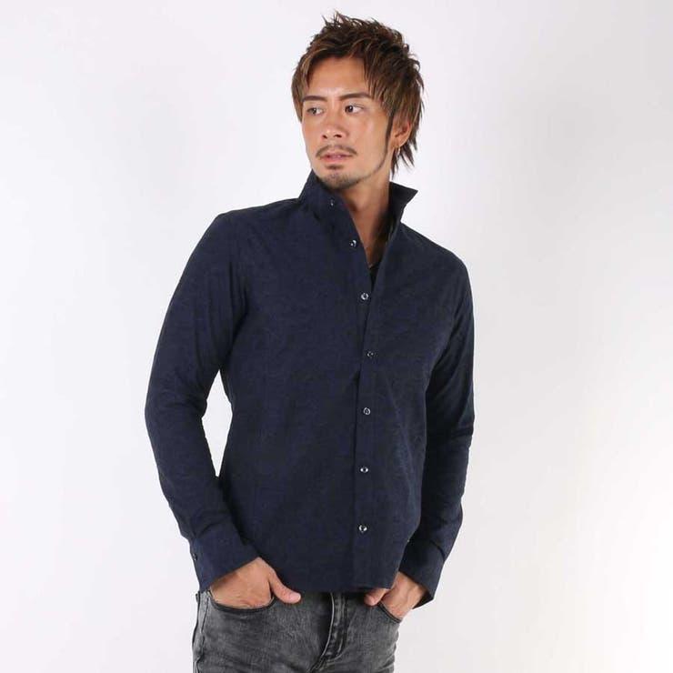 【日本製】ペ−ズリ−ジャガ−ドシャツ
