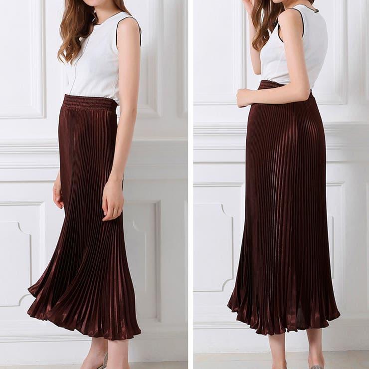 ririのスカート/プリーツスカート   詳細画像