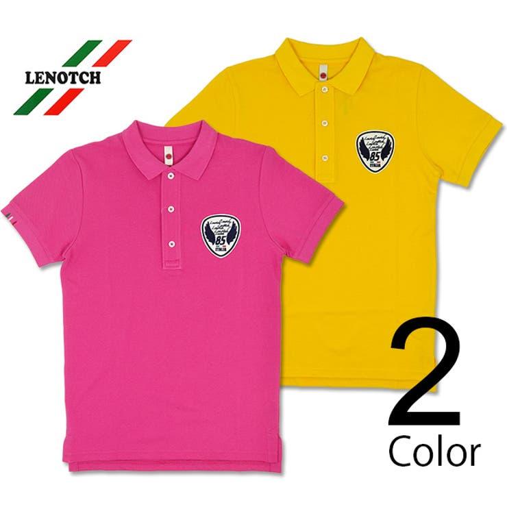 Stra Raggio デザインカラーポロシャツ | T-LINK | 詳細画像1