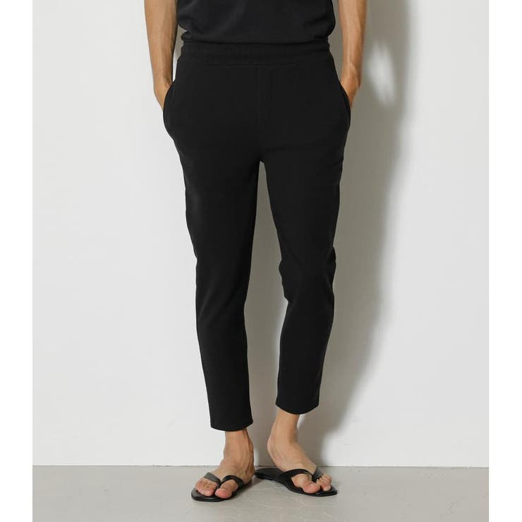 UNDULATION SURFACE ANKLE PANTS | AZUL BY MOUSSY | 詳細画像1