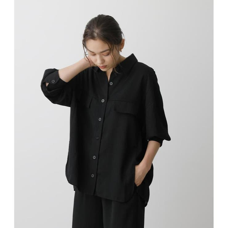 LOOSE POCKET SHIRT | AZUL BY MOUSSY | 詳細画像1