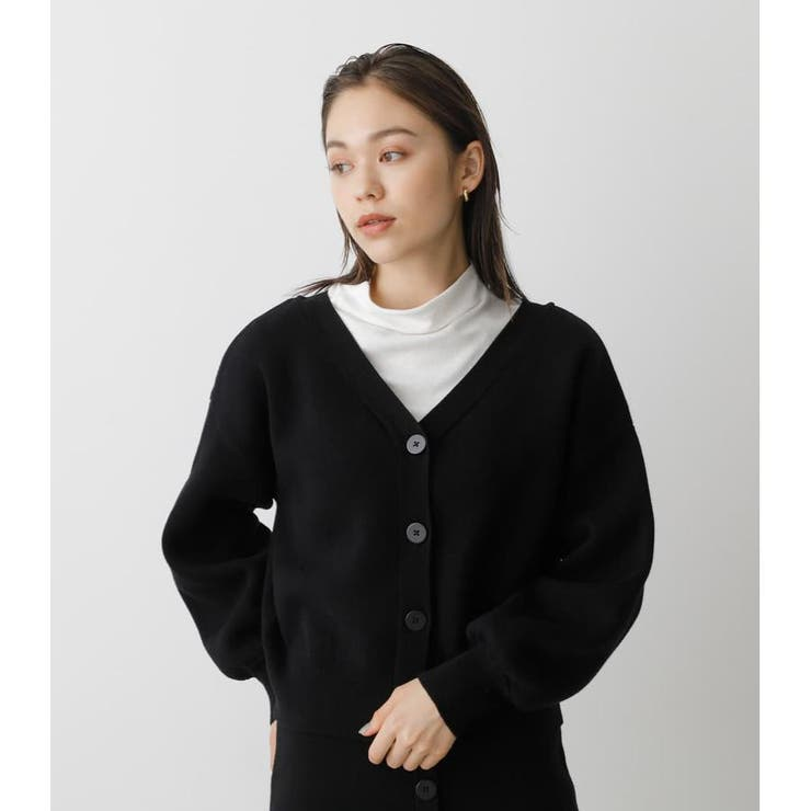 2WAY SWEATTER BUTTON SHORT PO   AZUL BY MOUSSY   詳細画像1