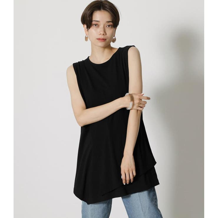 ICE CLEAN LAYERED TANK | AZUL BY MOUSSY | 詳細画像1