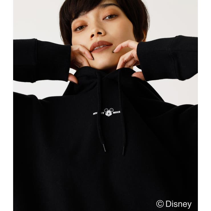 MICKEY HOODIE/ミッキーフーディ   AZUL BY MOUSSY   詳細画像1